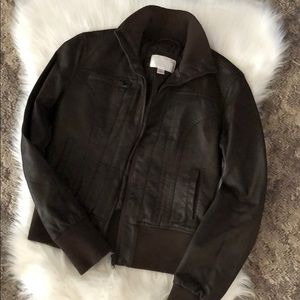 Size small Leather Jacket from Target